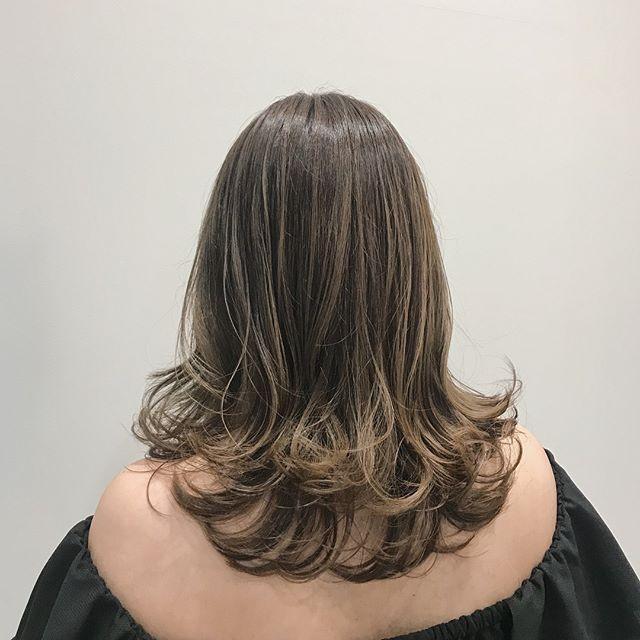 ハイライト 髪