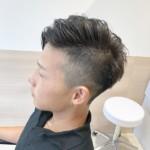 直毛にツーブロックってどう?似合うスタイル&スタイリング方法紹介