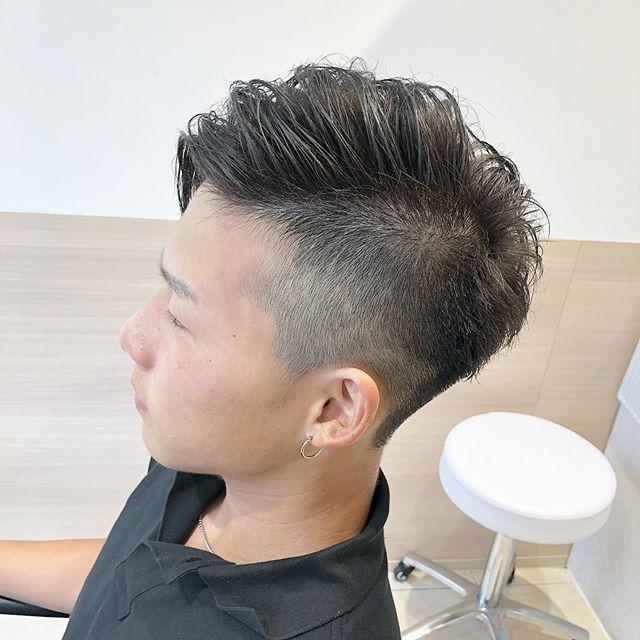 髪型 横 刈り上げ